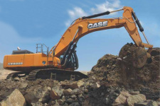 凯斯CX800B ME 大型挖掘机整机视图全部图片