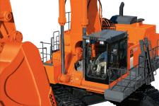 原装日立EX1200-6BH履带挖掘机局部细节32849