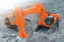 原装日立EX1200-6BH履带挖掘机施工现场32850