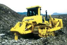 小松D275AX-5E0-履带式推土机施工现场33609