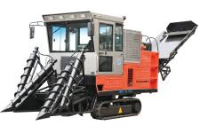 劲工4G-1700甘蔗收割机整机视图全部图片