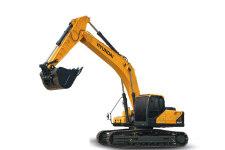 现代R305LVS履带挖掘机整机视图全部图片