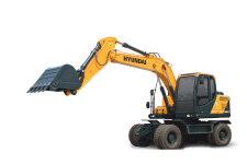 现代R150W VS轮式挖掘机整机视图36619