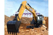 三一SY215C中型液压挖掘机施工现场36974