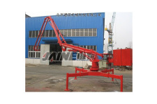 HGY13移动式混凝土布料机