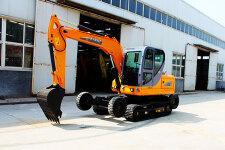 犀牛X8轮式履带挖掘机整机视图38673
