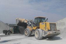 徐工LW600FV轮式装载机施工现场全部图片