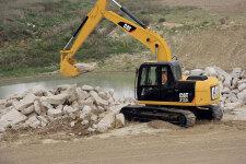 卡特彼勒Cat313D2小型挖掘机施工现场40812