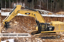 卡特彼勒Cat390FL大型矿用挖掘机施工现场40903