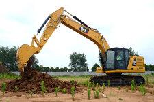 卡特彼勒新一代Cat320GC液压挖掘机施工现场44460