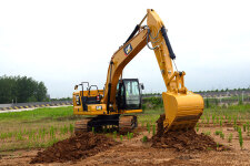 卡特彼勒新一代Cat320GC液压挖掘机施工现场44463