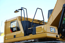 卡特彼勒新一代Cat323液压挖掘机局部细节44529
