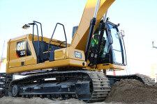 卡特彼勒新一代Cat323液压挖掘机局部细节44530