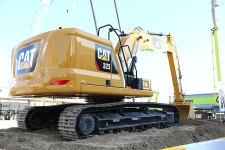 卡特彼勒新一代Cat323液压挖掘机整机视图44534
