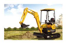 临工ER616F履带挖掘机施工现场全部图片