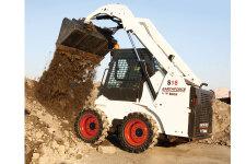 山猫S16滑移装载机施工现场44728