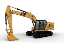 卡特彼勒新一代Cat323液压挖掘机整机视图44774