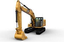 卡特彼勒新一代Cat323液压挖掘机整机视图44777
