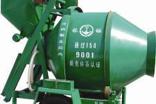 銀錨建機JZC350錐型反轉出料混凝土攪拌機
