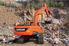 斗山DX230LC-9C履带挖掘机施工现场45138