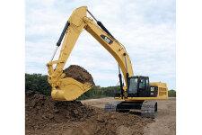 卡特彼勒349D2/D2L大型矿用挖掘机施工现场45178