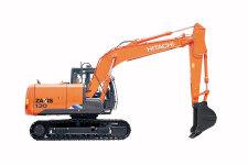 日立ZX130-5A履带挖掘机整机视图45309