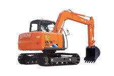 日立ZX70-5A履带挖掘机整机视图45323