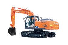 日立ZX200-5A履带挖掘机整机视图全部图片