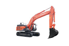 日立ZX490LCH-5A履带挖掘机整机视图45456