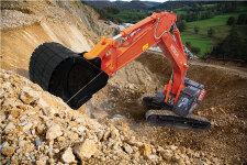 日立ZX490LCH-5A履带挖掘机施工现场45463
