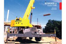 格鲁夫RT9130E-2越野起重机