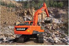 斗山DX230LC-9C履带挖掘机施工现场47186