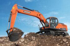 斗山DX230LC-9C履带挖掘机施工现场47187