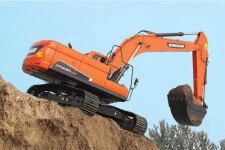 斗山DX230LC-9C履带挖掘机施工现场47189
