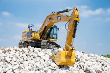 卡特彼勒新一代Cat345GC液压挖掘机施工现场47353