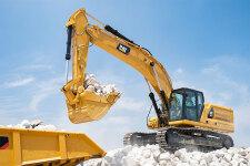 卡特彼勒新一代Cat345GC液压挖掘机施工现场47382
