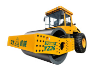 Power YZ36吨超大激振力单钢轮振动压路机