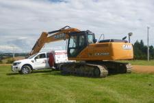 凯斯CX210C 履带挖掘机整机视图全部图片