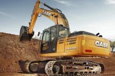 凯斯CX220C 履带挖掘机施工现场全部图片
