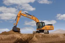 凯斯CX300C履带挖掘机施工现场48070