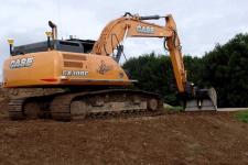 凯斯CX300C履带挖掘机施工现场48071