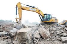 凯斯CX380C 履带挖掘机施工现场全部图片