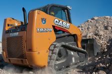 凯斯TR270 履带式滑移装载机施工现场48080
