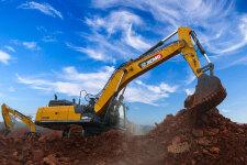 徐工XE490DK履带挖掘机施工现场全部图片