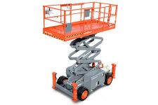 斯凯杰科SJ6832 RT柴油越野剪叉式高空作业平台整机视图48585