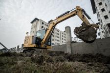 卡特彼勒新一代Cat 306液压挖掘机施工现场48644