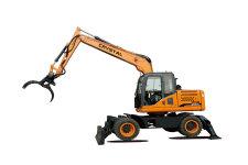 CRT115W 轮式挖掘机