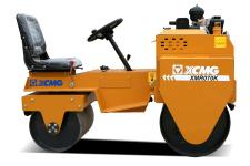徐工XMR070K小型双钢轮振动压路机