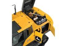 约翰迪尔E210履带挖掘机局部细节全部图片