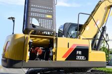 雷沃FR200E2 挖掘机局部细节全部图片